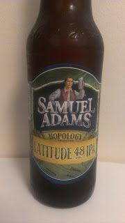 Samuel Adams Latitude 48 IPA beer review by Amulets and Ale!