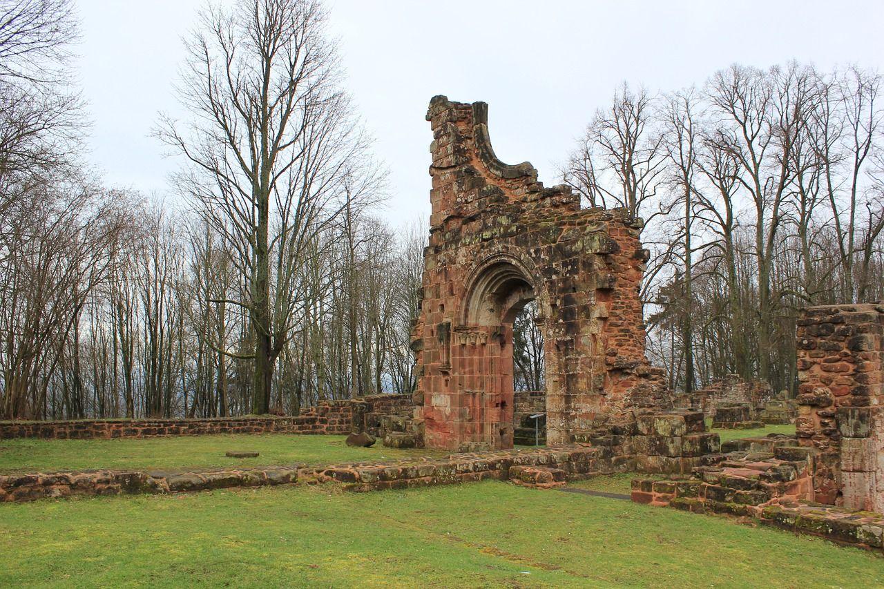 Castle Ruin Monastery Middle Ages Castle Ruin