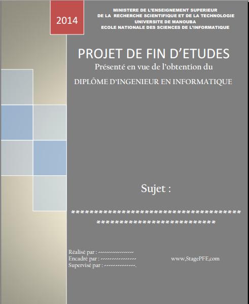 Télécharger Gratuitement Des Rapports De Stage Projet De
