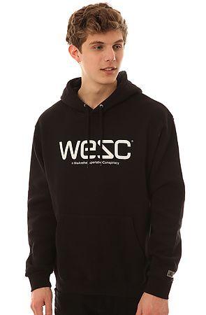 Hoodies Digs Black Wesc By In Sick The Pullover Hoody 40wqwY