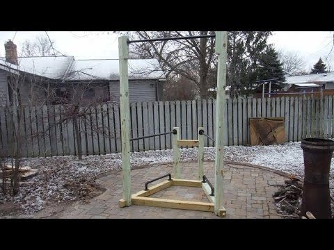 How to build a simple backyard bodyweight gym youtube diy