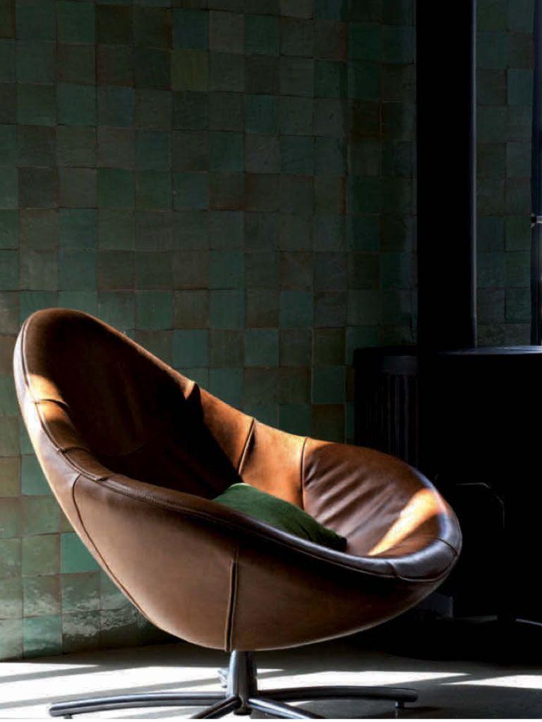 Fauteuil Label Hidde.Swivelchair Hidde By Gerard Van Den Berg For His Own Label Home