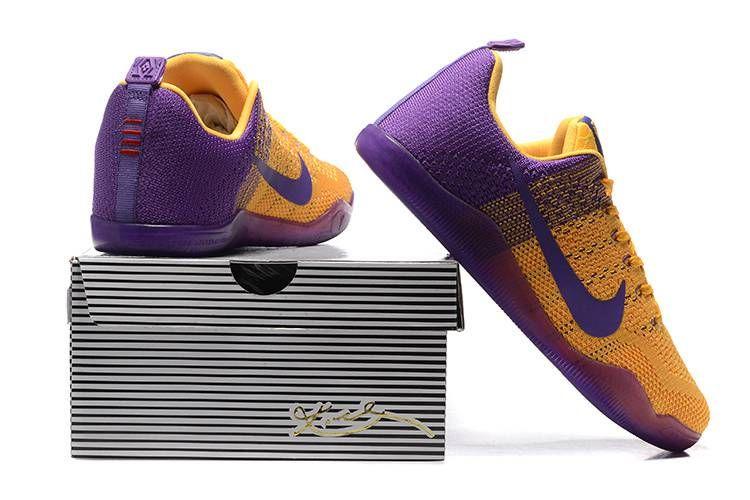 eb976d79c1e Kobe XI Elite Low AS Lakers. Kobe XI Elite Low AS Lakers Basketball Shoes  ...