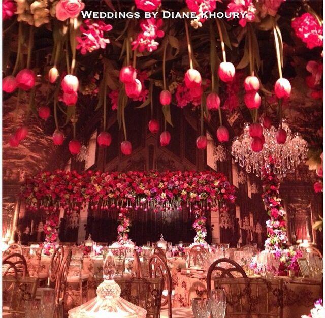 Diane khoury sydney australia floral chandelier hanging diane khoury sydney australia wedding junglespirit Gallery