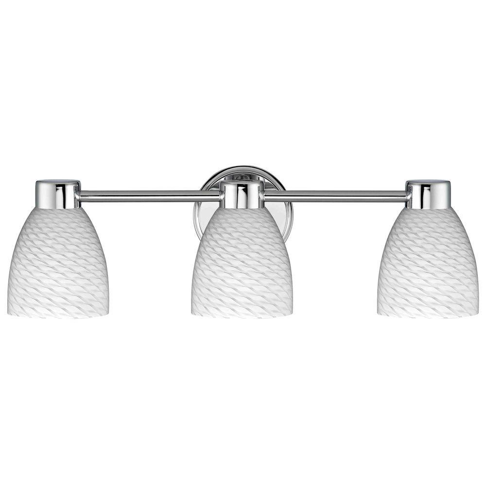 Aon Fuse Chrome Bathroom Light | Chrome, Lighting design and Lights