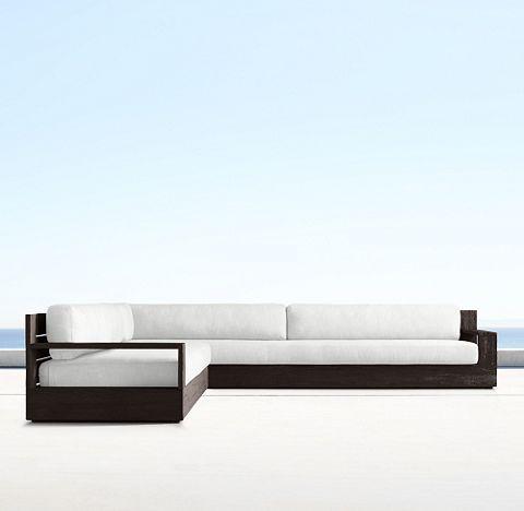 Marbella Teak Coffee (Outdoor Furniture CG)   RH