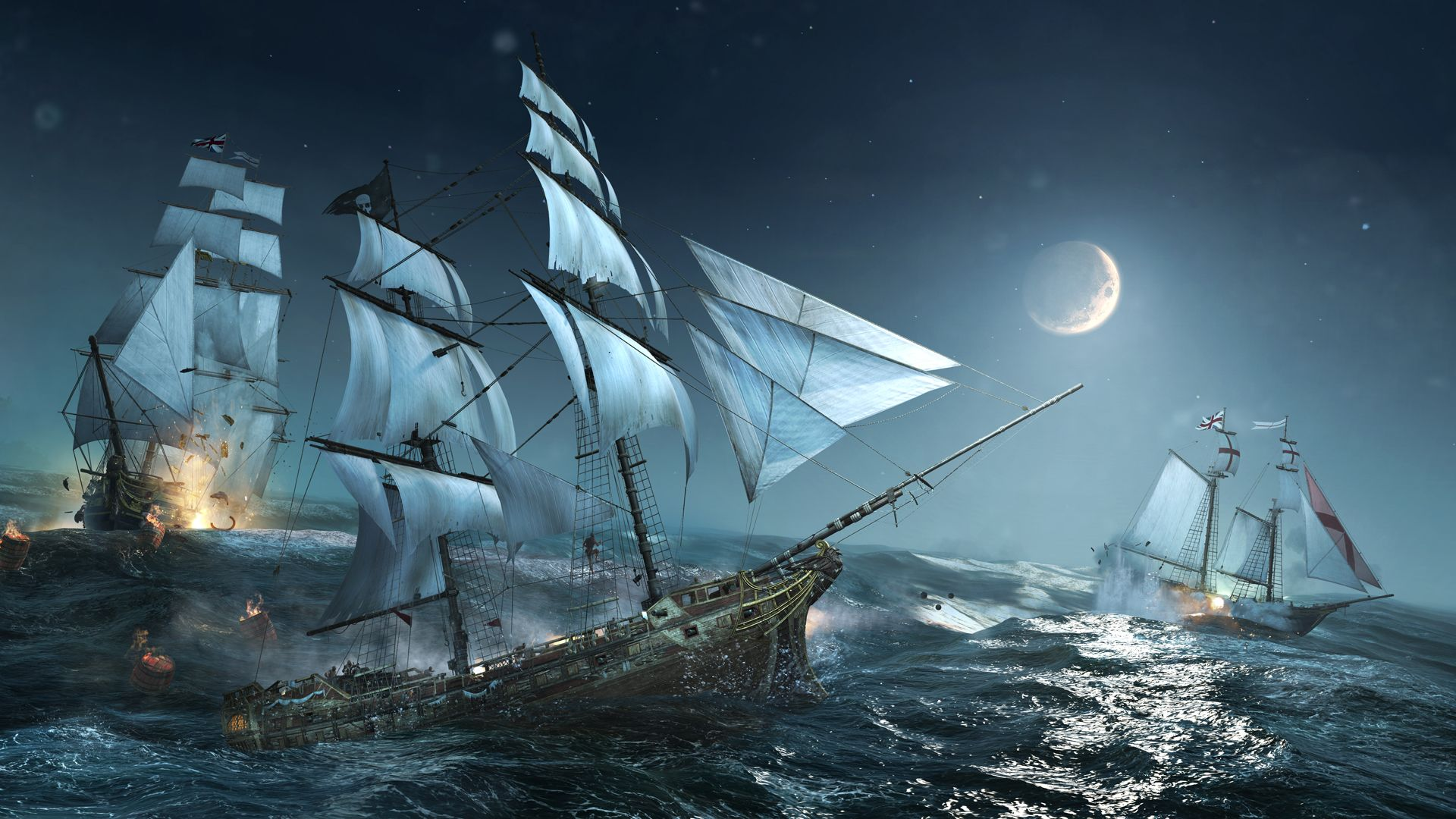 Sailing Ships HD Wallpaper | 1920x1080 | ID:51976