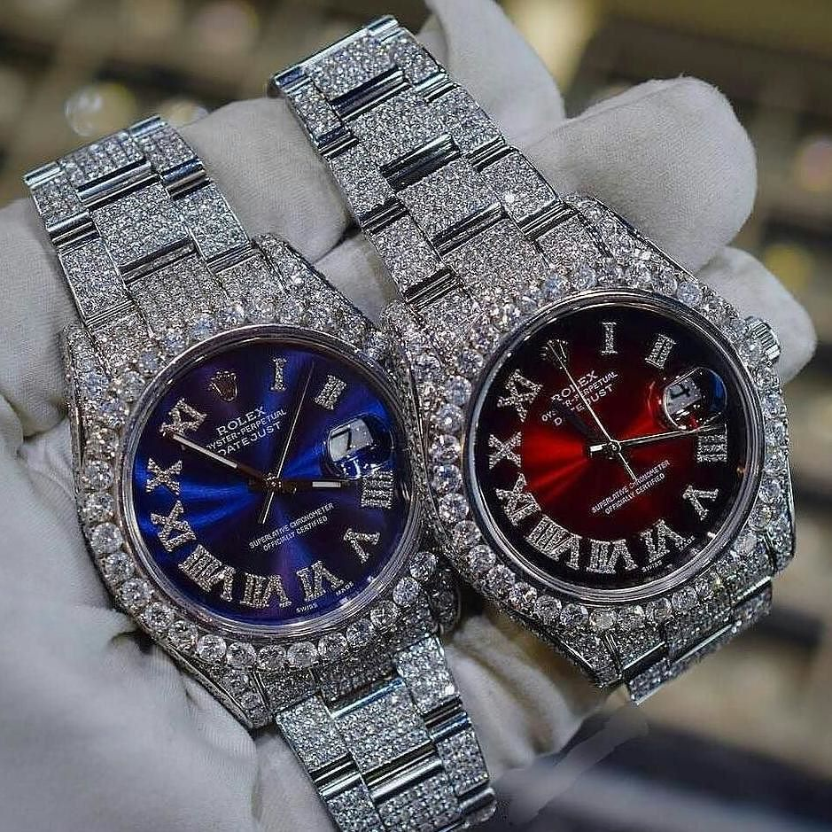 Diamond Encrusted Rolexes | JEWELS | Rolex watches ...