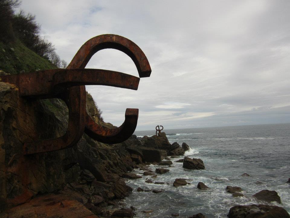 Peines del viento, San Sebastián