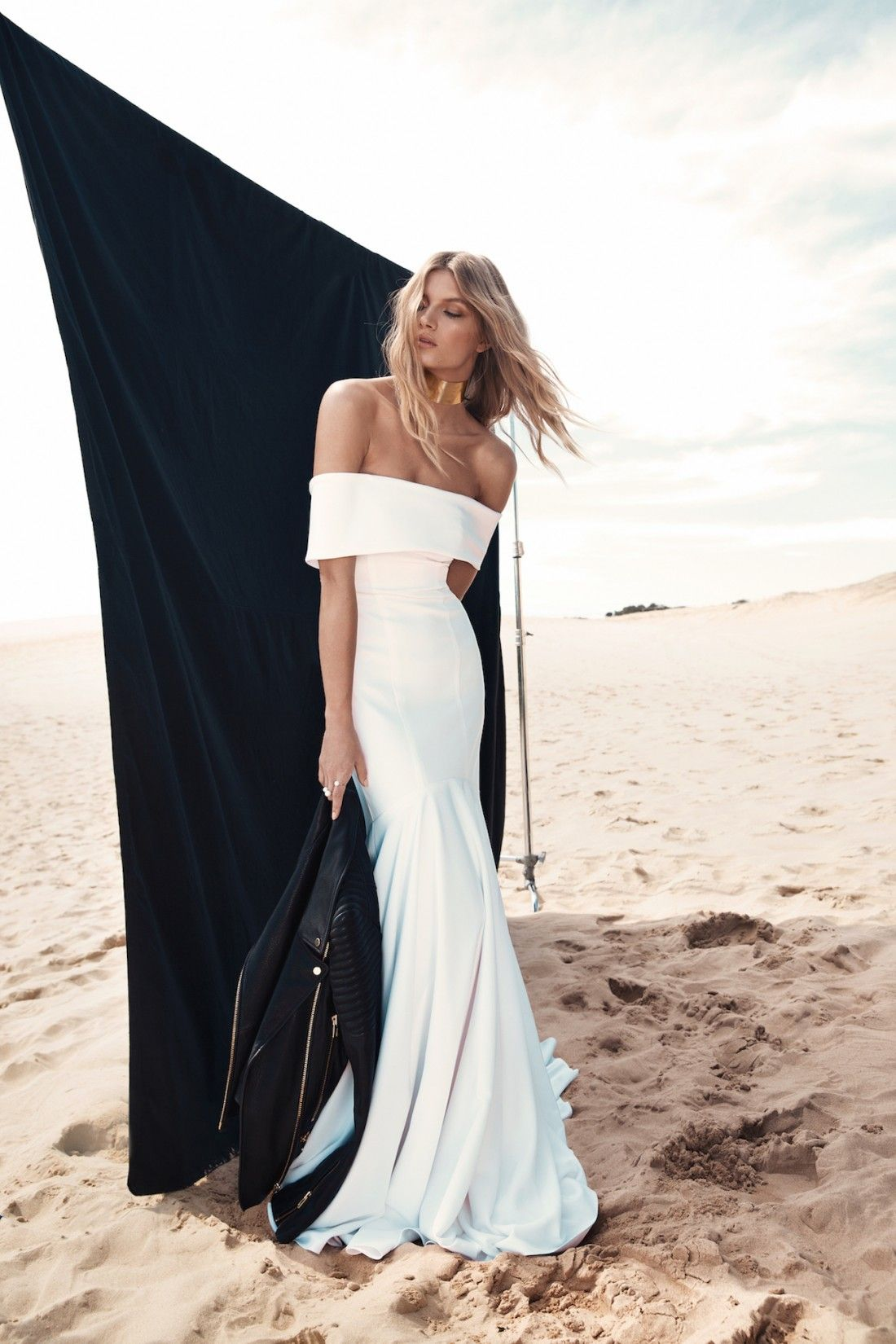 Chic silhouettes one day bridal modern wedding dresses