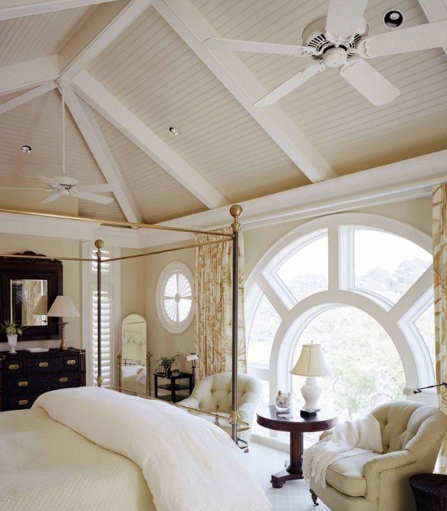 Love the ceilings!