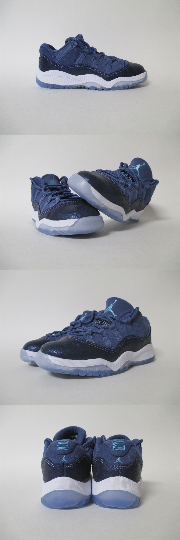 687a0cdd622247 Unisex Shoes 155202  Nike Air Jordan 11 Xi Low Blue Moon Ps Pre School Sz