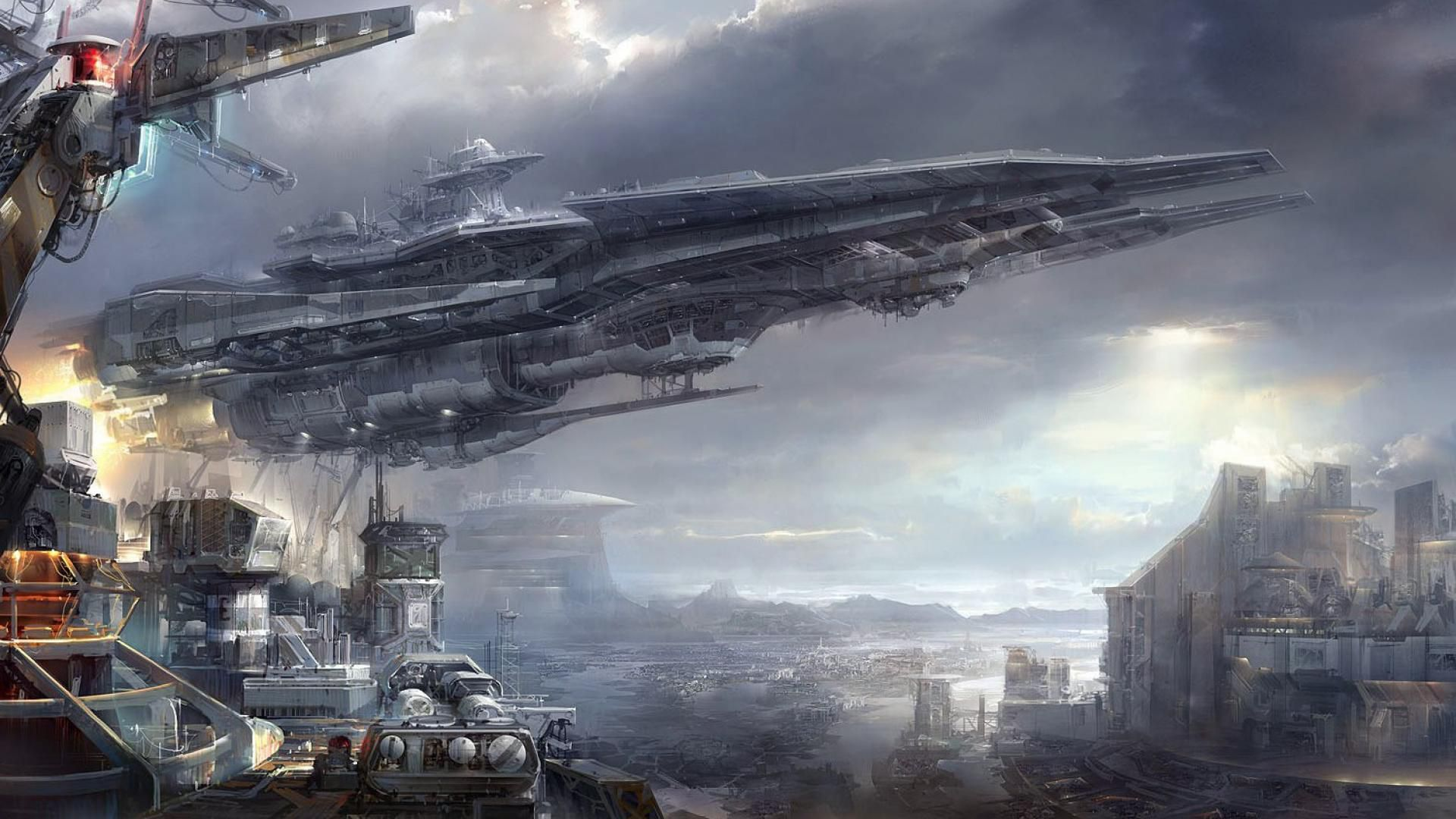 951 Spaceship Wallpapers Spaceship Backgrounds Spaceship Art Futuristic Art Sci Fi Art