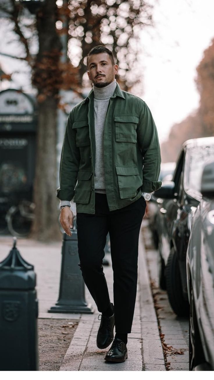 5 Super Cool Fall Outfits To Help To Level Up Your Fall Style #mensfashion