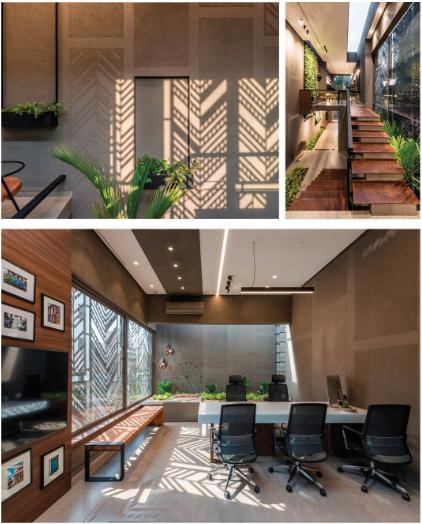 Architectural Studio Architect S Own Office Office Office Interiors Office Decor Light Venti Cabin Interior Design Office Ceiling Design Office Interior Design