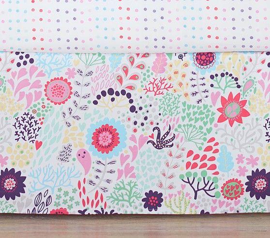 Margherita Missoni Printed Floral Crib Skirt