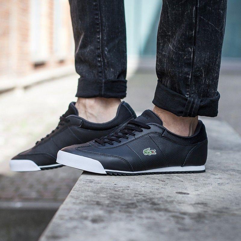 Buty Lacoste Romeau 116 2 Black Sneaker All Black Sneakers Lacoste