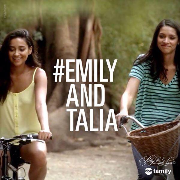 Emily and Talia. Pretty Little Liars Season 5 Episode 19