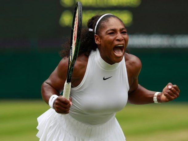 Serena Williams' chase for Grand Slam singles title No. 22 is finally over. After coming up short in three consecutive majors, Williams tied Steffi Graf's mark with a 7-5, 6-3win over Angelique Kerber in Saturday's Wimbledon final.