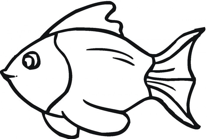 Lots Of Fish Coloring Page