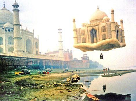 Flying Taj