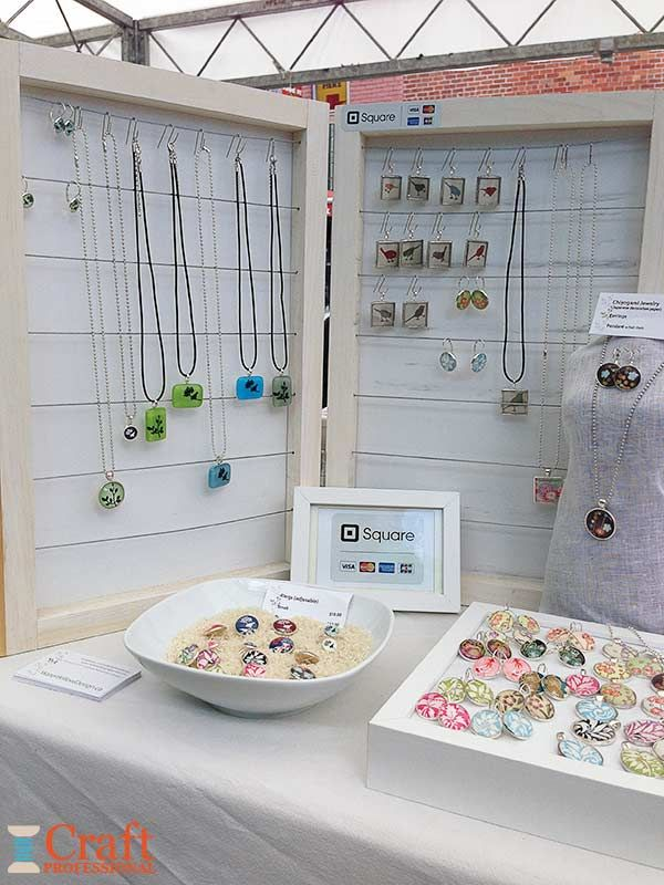 Craft Booth Design Using Portable Tables Craft Booth Design Jewelry Table Display Craft Booth