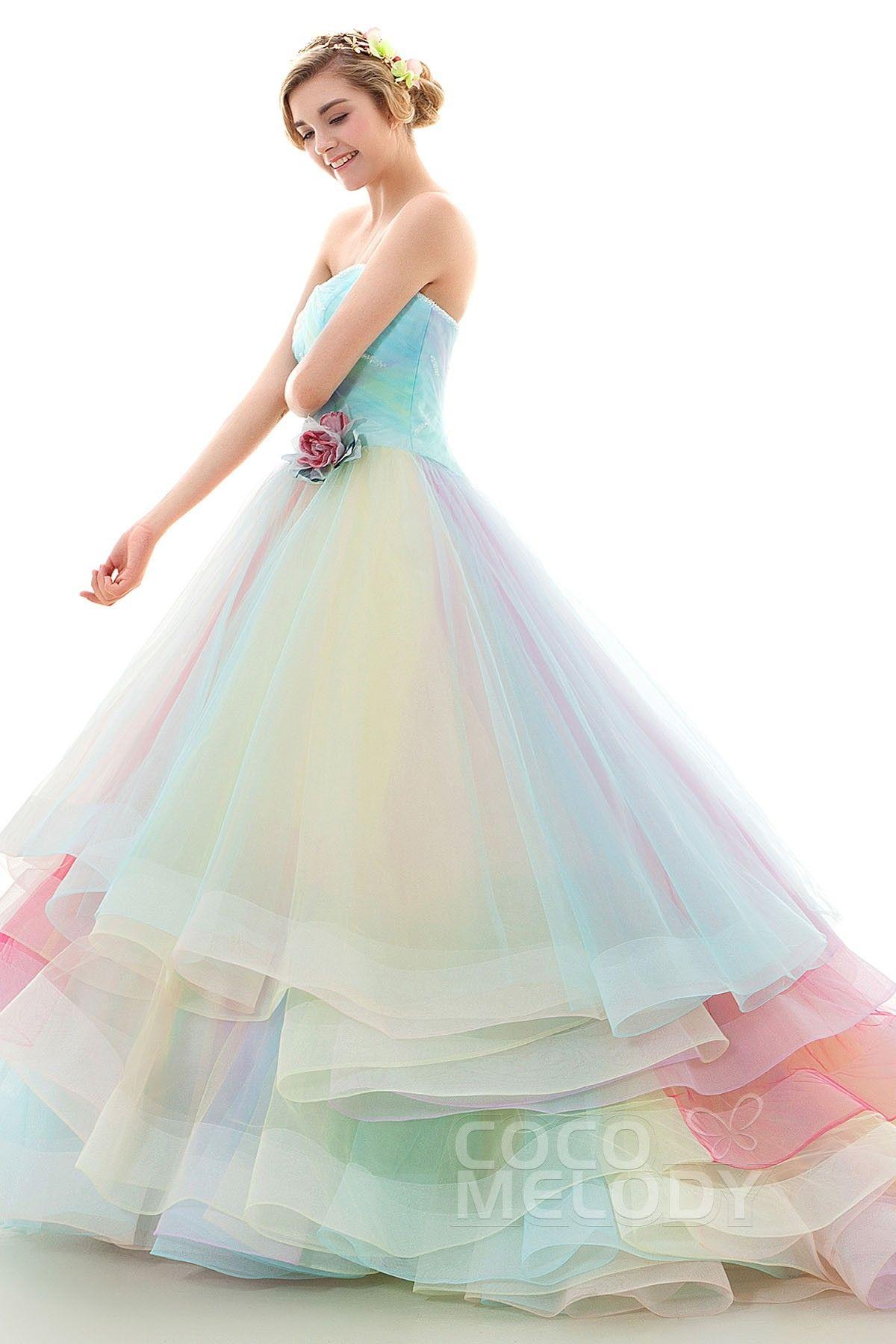 Rainbow Colored Dresses