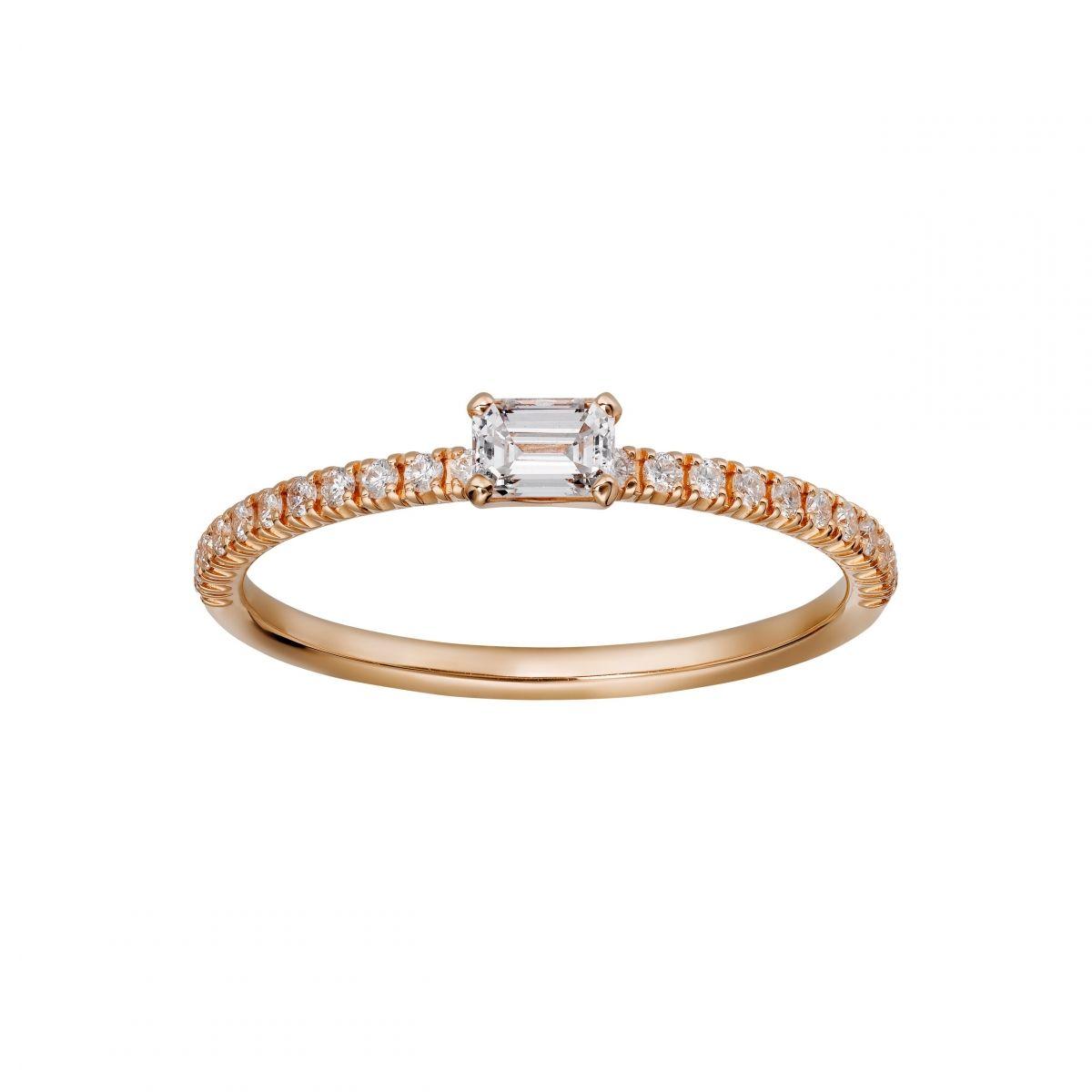 cartier 日常に映える可憐でエレガントなダイヤモンドリング ウェディング特集 spur 婚約指輪 カルティエ 婚約指輪 重ね付け カルティエ リング