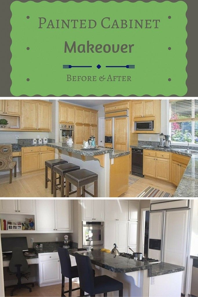 Painted Cabinets - Simple Kitchen Makeover| Kitchens