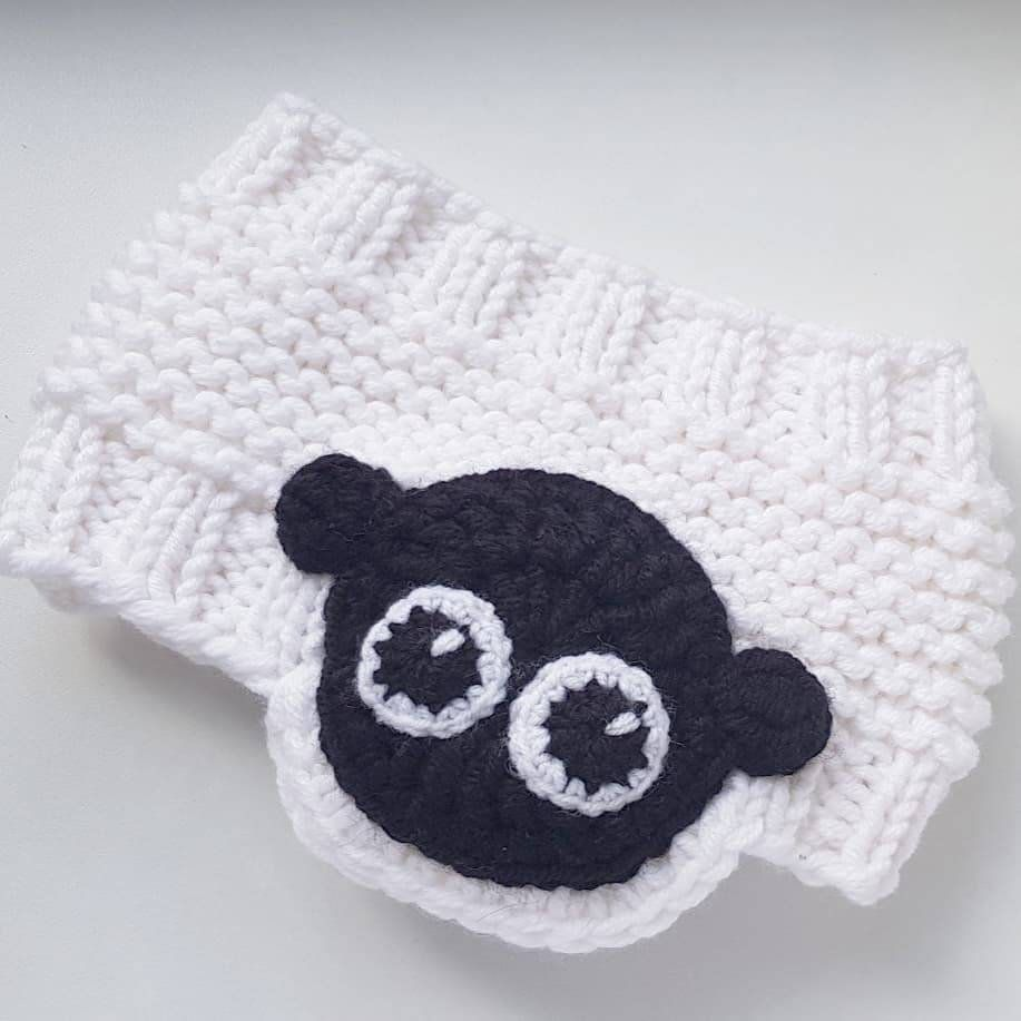 Headband SHEEP, Knit Headband, Head Wrap, Girls Outfit, Kids Fashion ...