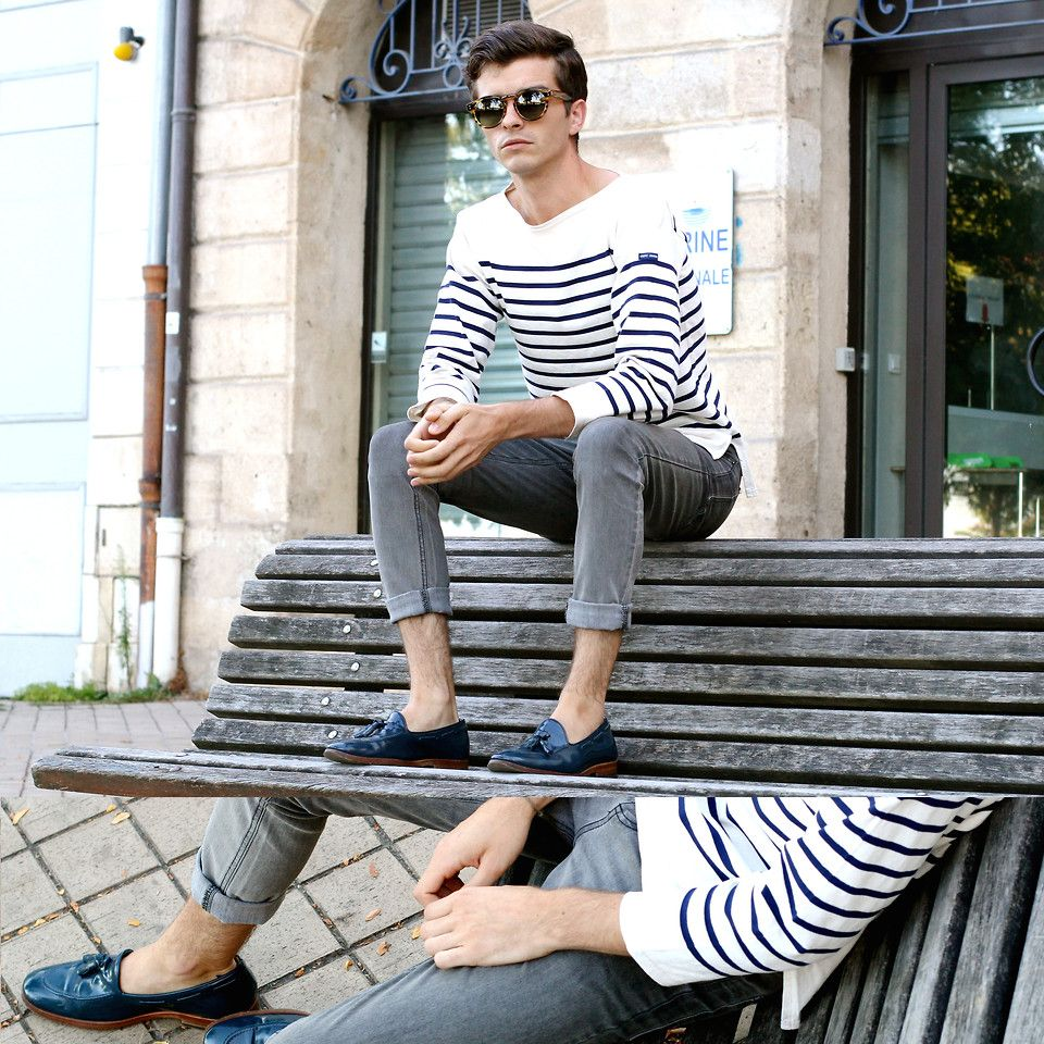 Striped Style - Street Style at The Idle Man