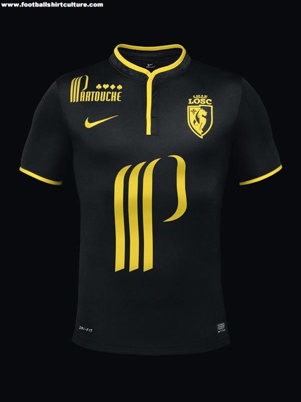 LOSC Lille 13 14 Nike Football Shirts Camisas De Futebol 36a0067b8b22d