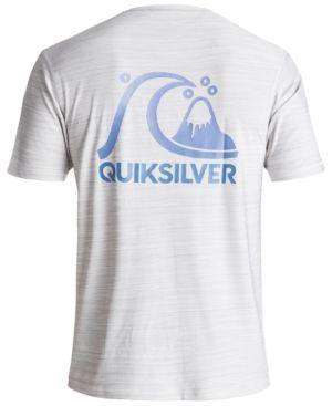 a2f29f12cb Quiksilver Men's Heritage Surf Heathered Rash Guard - White 2XL ...