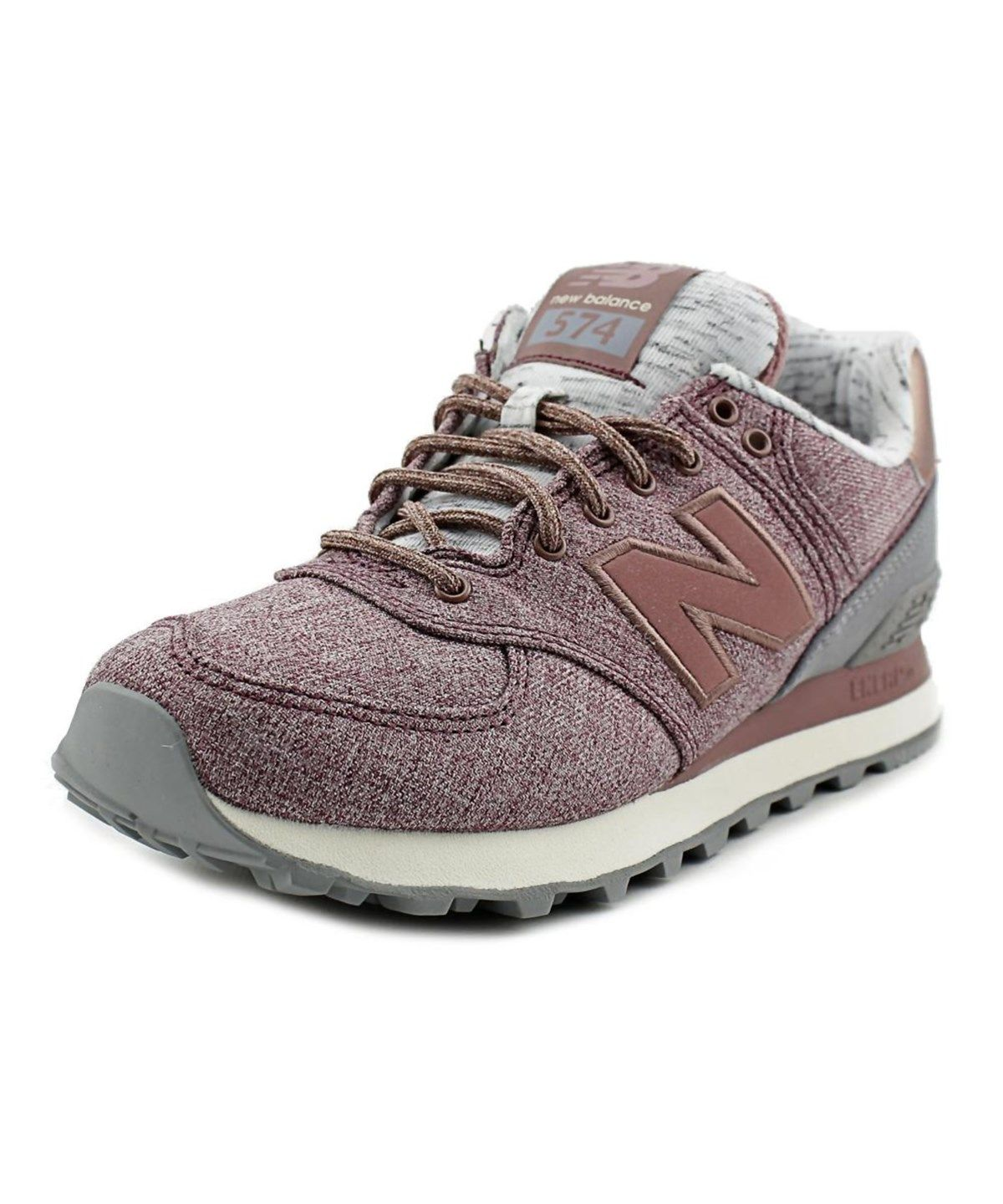 358f14a623 NEW BALANCE NEW BALANCE WL574 WOMEN CANVAS PINK FASHION SNEAKERS ...