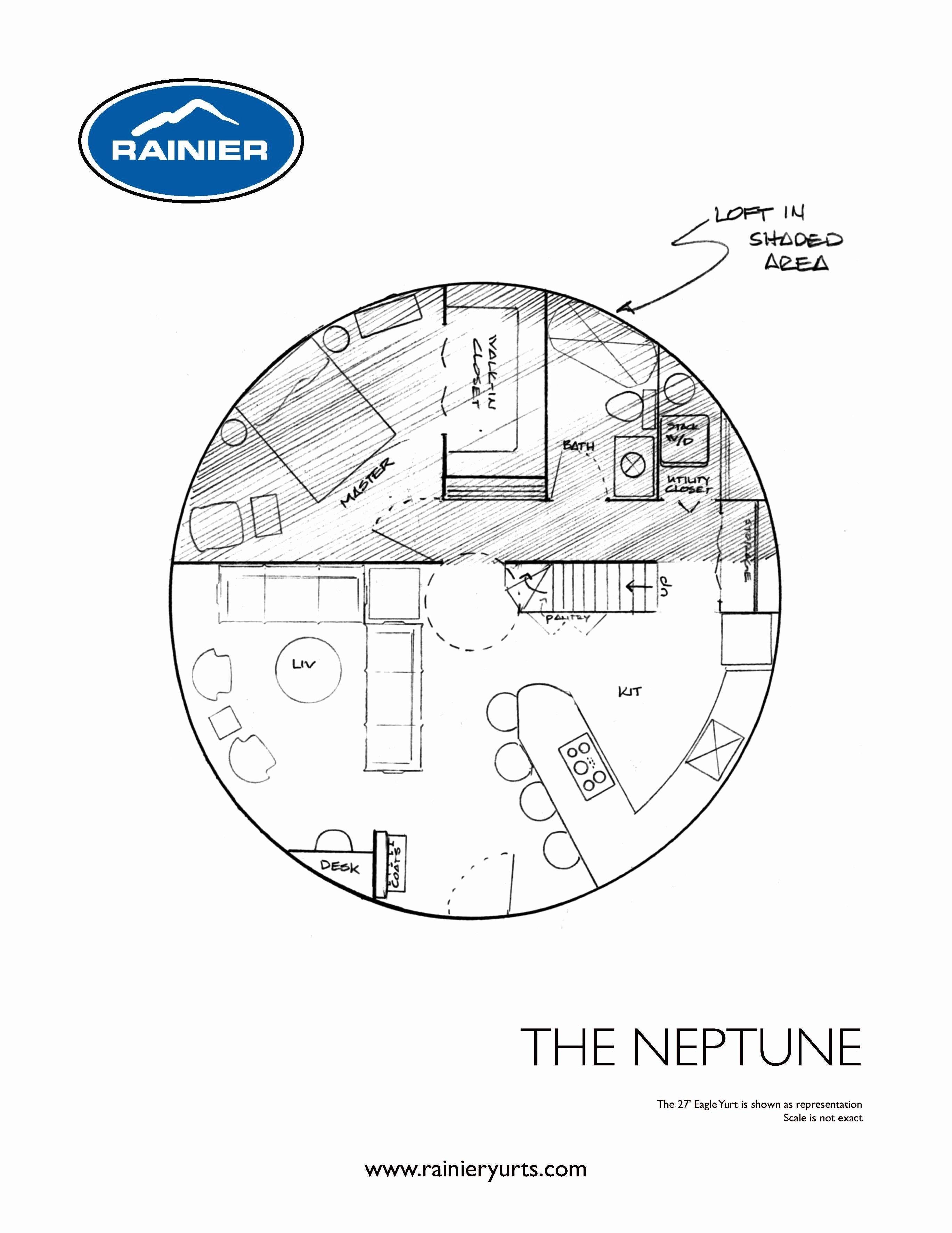 Yurt Interior Floor Plans Inspirational Floor Plans Four