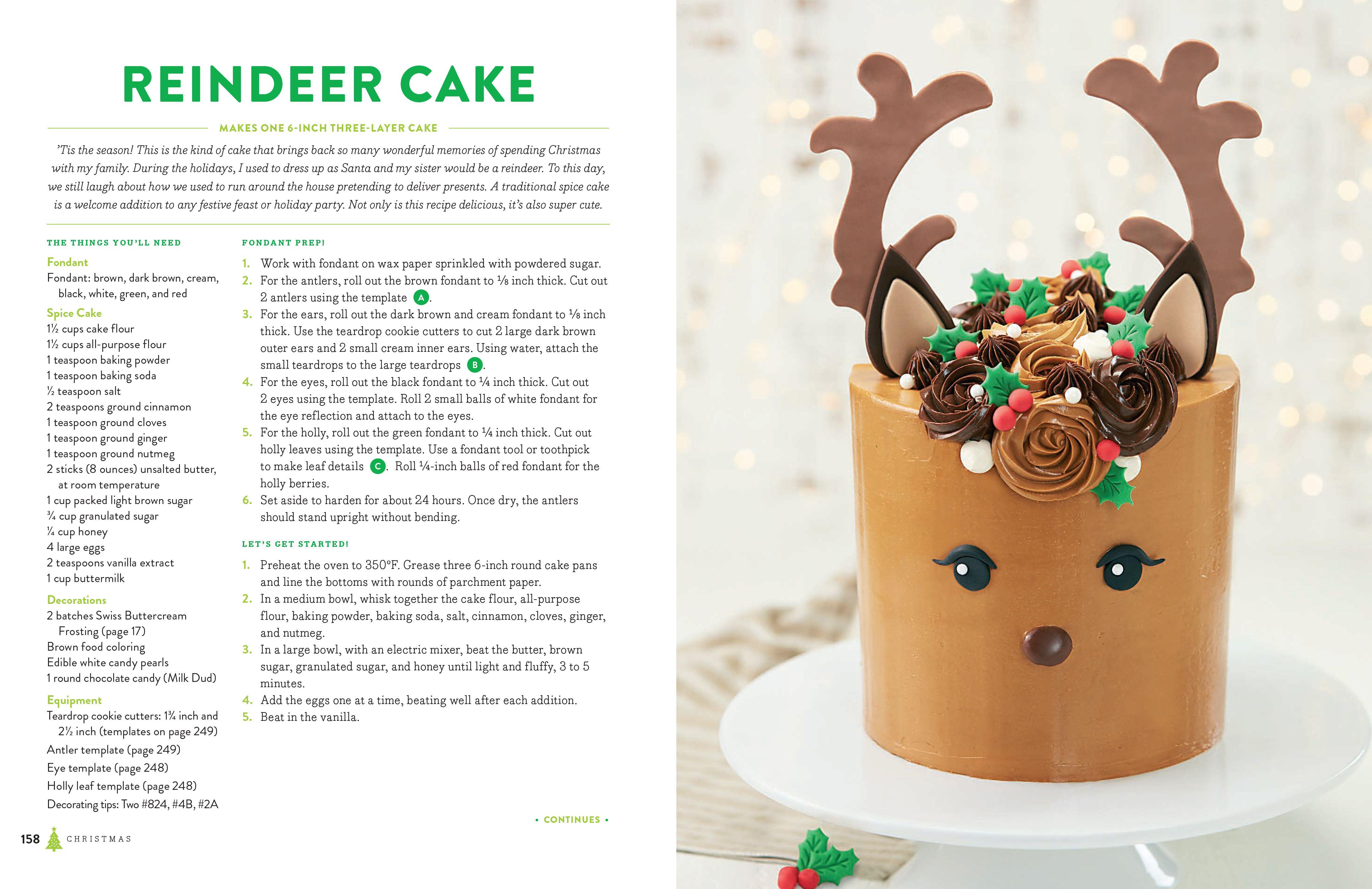Sneak Peak Recipe From Baking All Year Round Reindeer