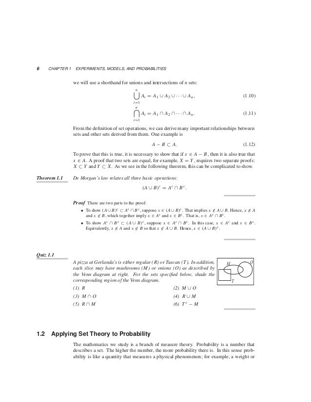 Yates Probability Homework Solution  The Best ExpertS