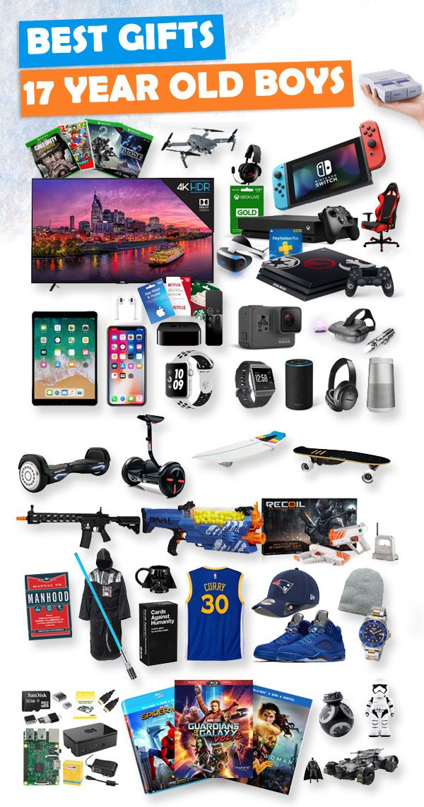 Tons Of Great Gift Ideas For 17 Year Old Boys
