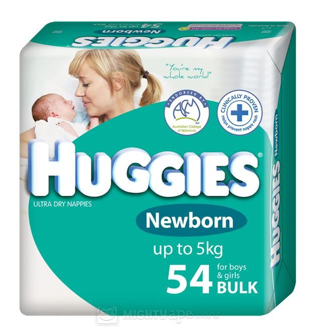 huggies size 1 weight
