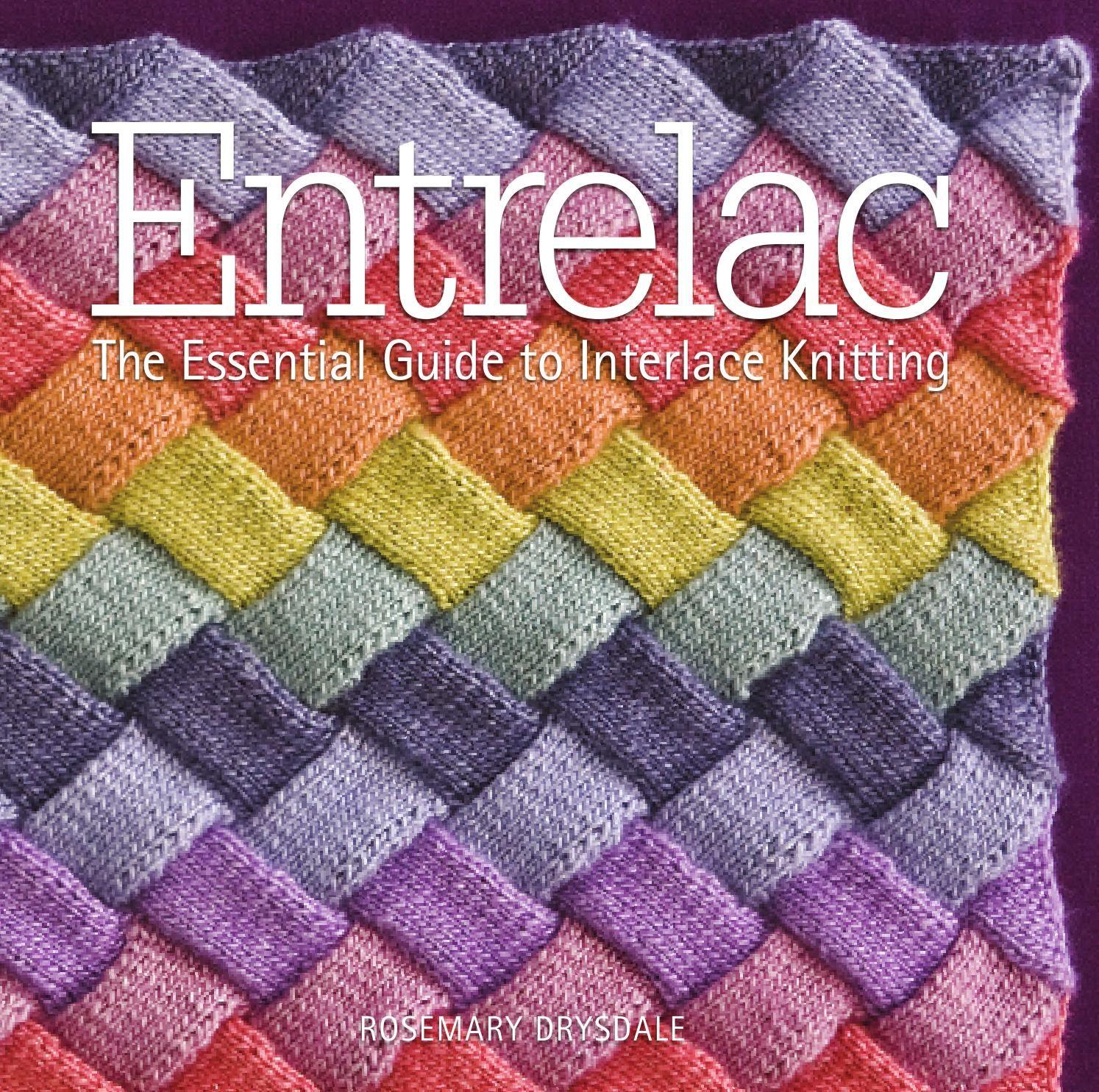 Entrelac | Entrelazados, Puntadas y Canastilla