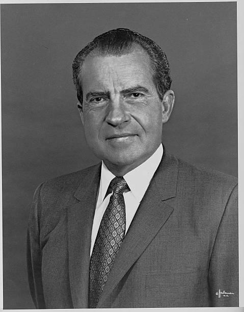 Richard Nixon Portrait Pictures And Photos Getty Images Portrait Richard Nixon Portrait Pictures
