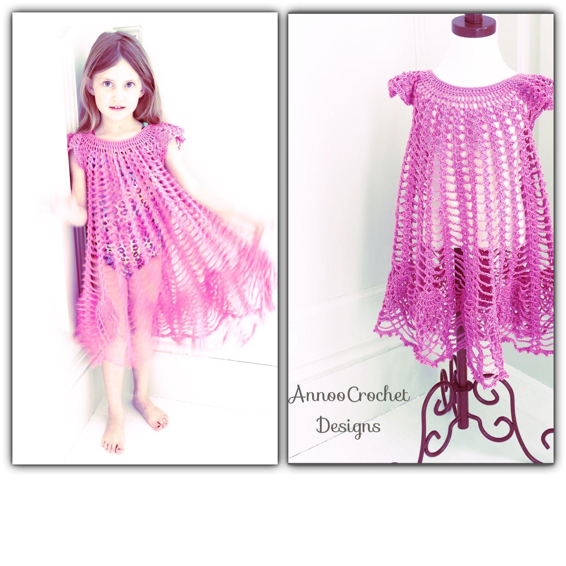 Flower Petal Crochet Dress Free Tutorial   Crochet Clothing ...