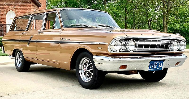1964 Ford Fairlane 500 Custom Ranch Wagon with 347 V8