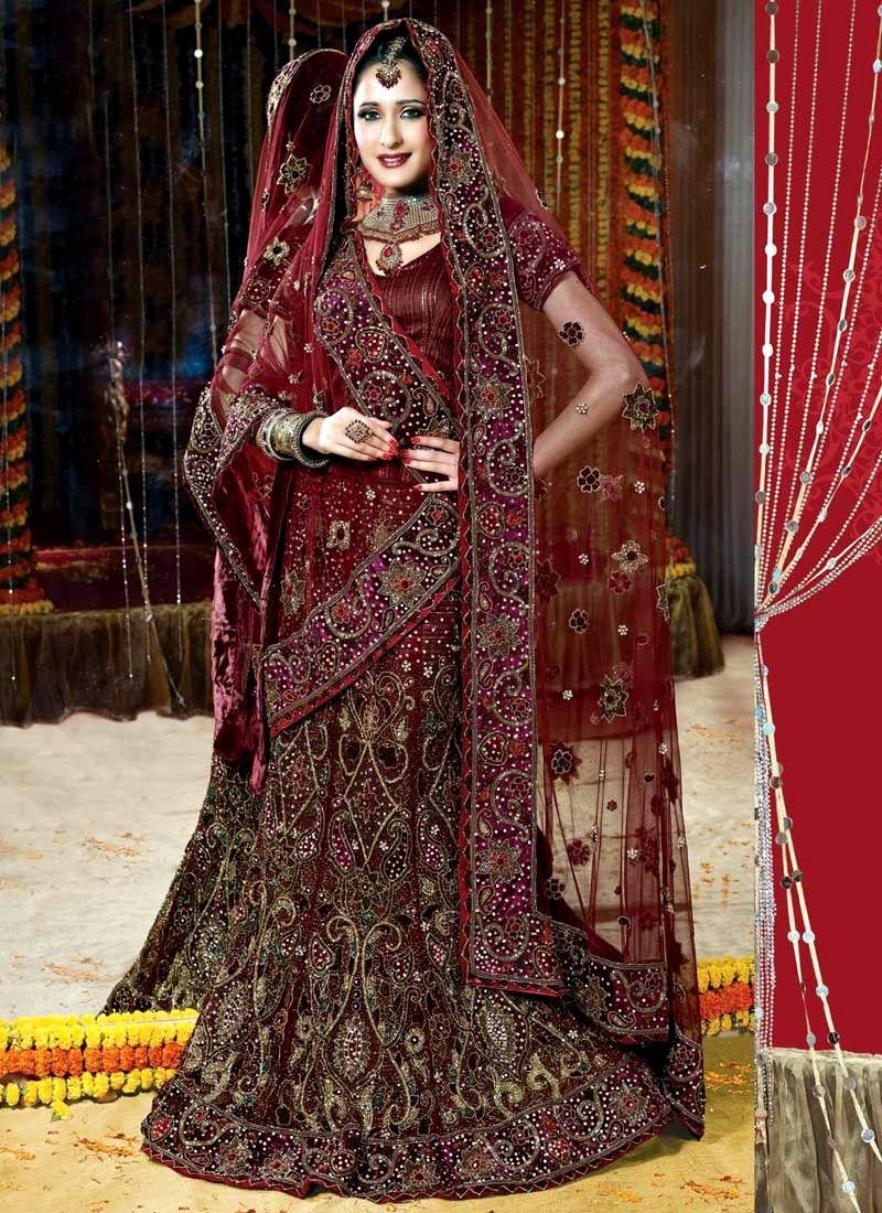 Bridal sarees indian bridal sarees bridal sarees for parties - Wedding Lehenga Choli For Bride Google Search Bridal