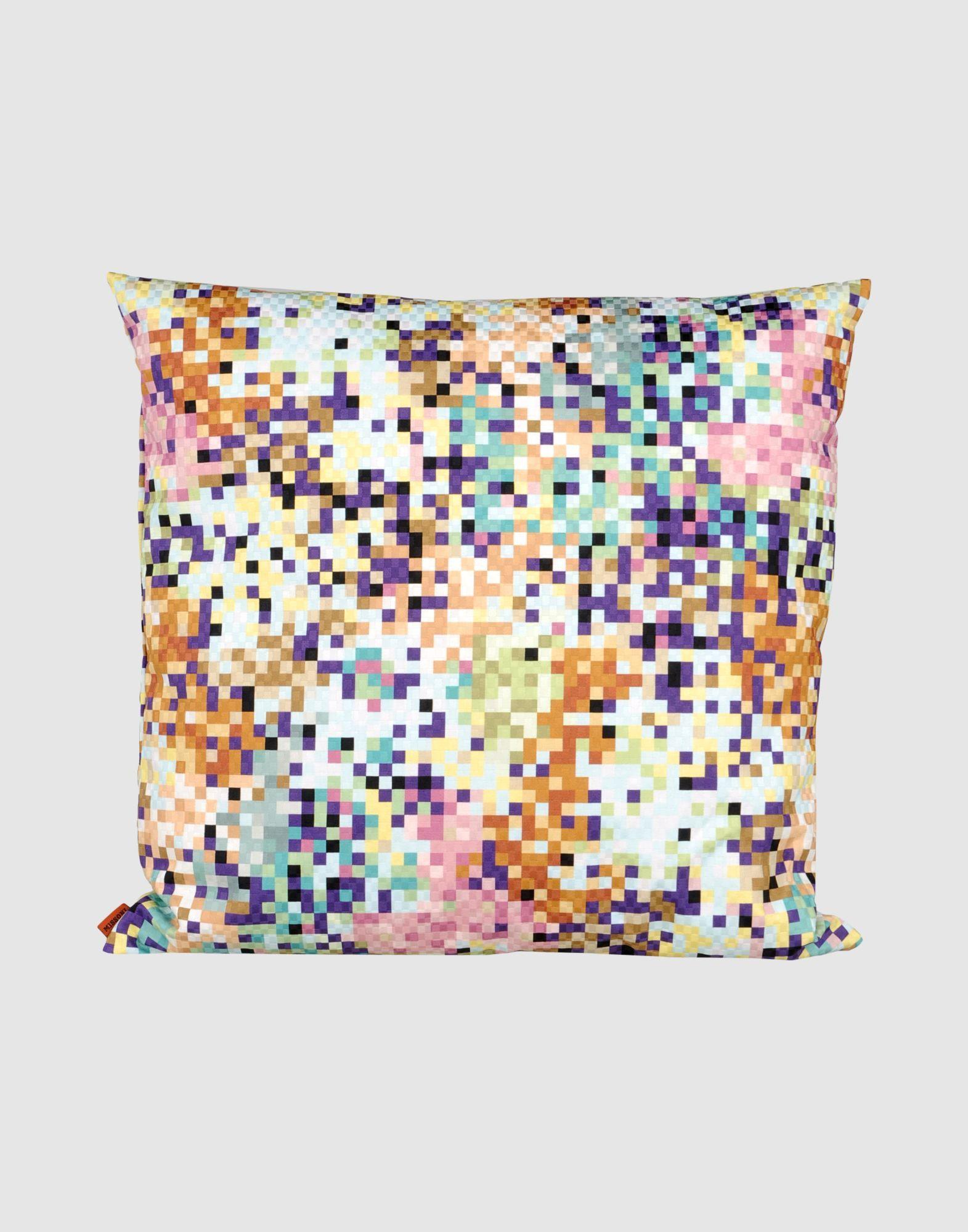 Missoni home pixelated colour burst modernist interiors