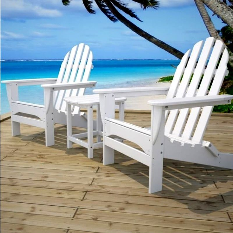 polywood classic adirondack chair covers at bed bath and beyond folding beaches pinterest enjoy comfort relaxation in the deep contoured seat of our