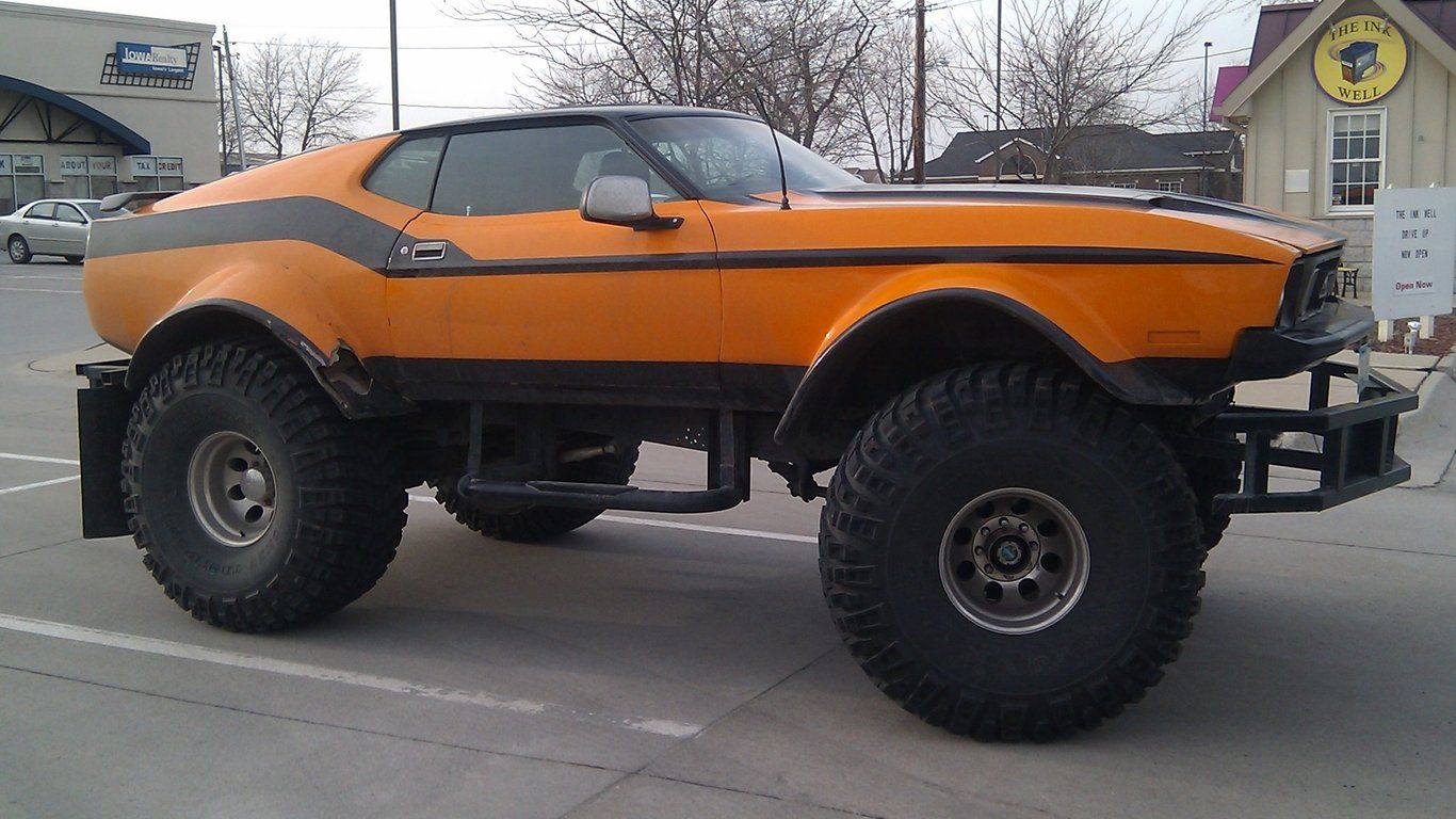 The List #0555: Drive a Monster Truck | Biggest truck, Ford and ...