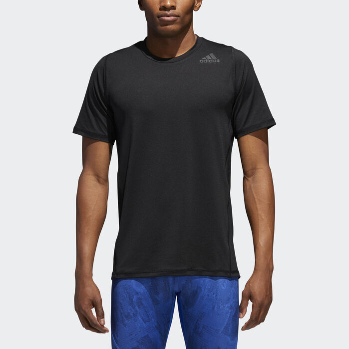 Alphaskin Sport Fitted Tee Black Mens | Mens tees, No