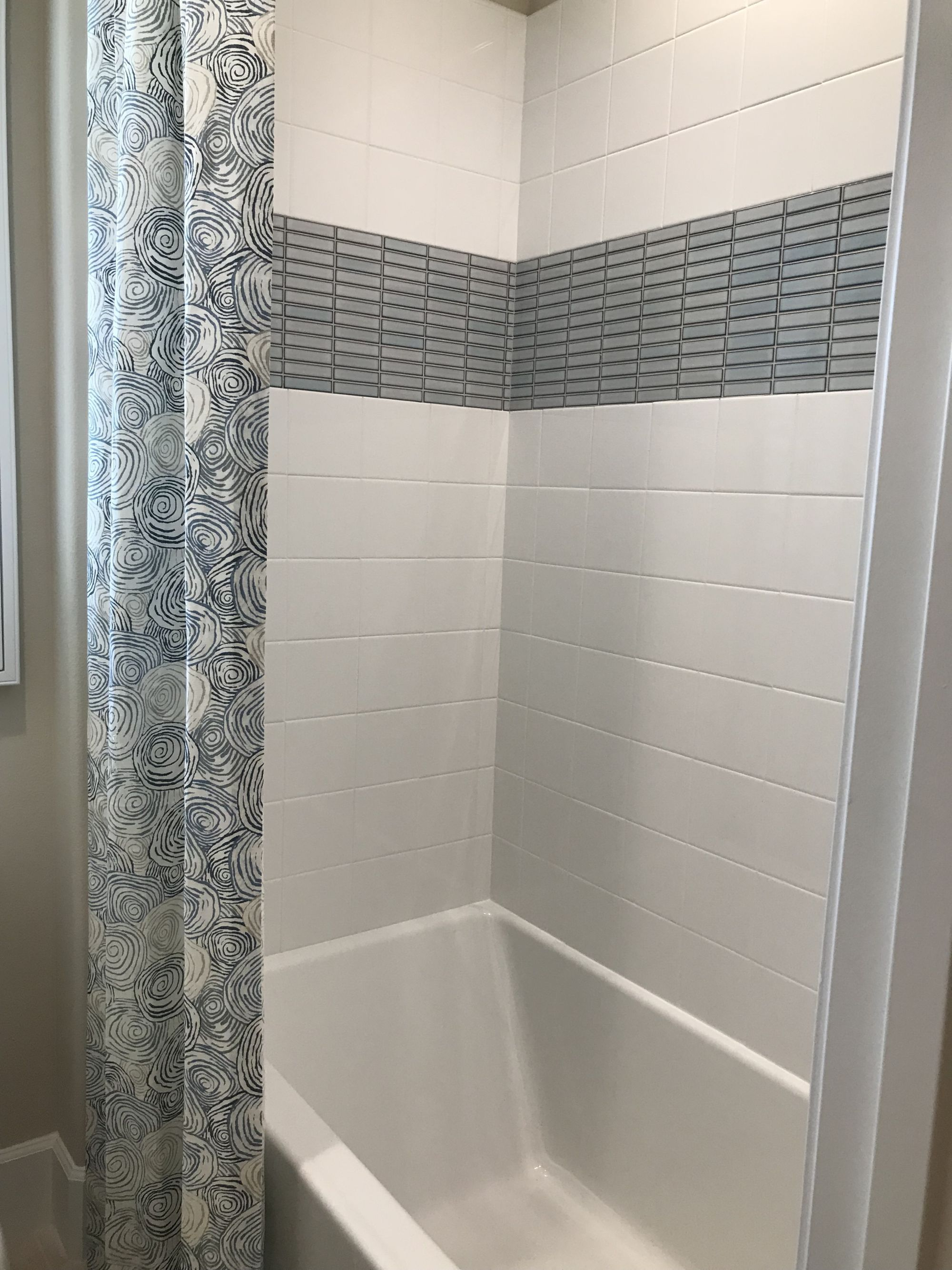 Bathroom Remodel Ideas Shower Stall White Blue Stile Pretty Shower Curtain Bathrooms Remodel Shower Stall Diy Bathroom Remodel