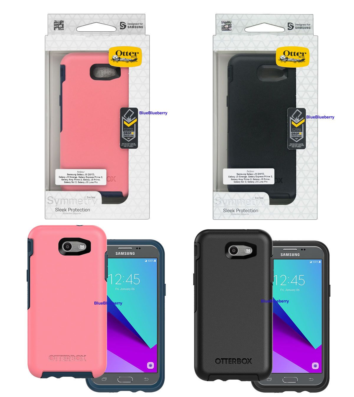 online store b7aec 7b5f3 New OtterBox Symmetry case for Samsung Galaxy J-3 emerge (2017 ...